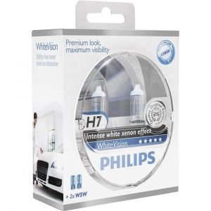 Philips Coffret ''Special'' H7 White Vision
