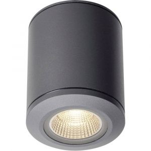 SLV POLE PARC LED, plafonnier extérieur, anthracite, LED 28W 3000K, IP44