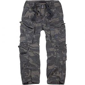 Brandit Pure Vintage Jeans/Pantalons Camouflage foncé 7XL