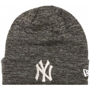 New Era Engineered Fit Cuff Knit Ny Yankees bonnet noir gris chiné