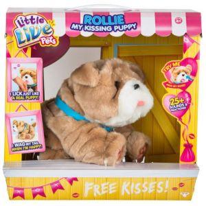 Giochi Preziosi Little live Pets Kissing Rollie - Chien interactif