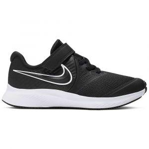 Nike Chaussures de sport Star Runner 2 GS à lacets et scratch Noir - Taille 33,5