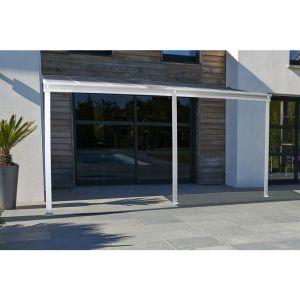DCB Garden Pergola CIELO 4x3m en polycarbonate - BLANC