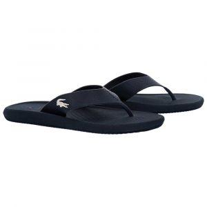 Lacoste Croco Sandal 219 1 CMA, Baskets Hommes, Bleu