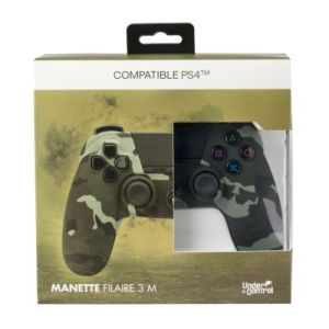 Under Control Manette PS4 Filaire