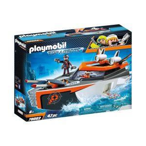 Playmobil Bateau turbo spy team Top agents - 70002