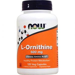 Now Foods L-Ornithine 500 mg - 120 gélules
