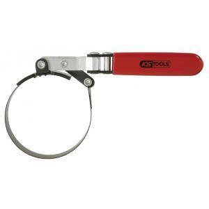 KS Tools 150.9378 - Clé de filtre à huile orientable 73-85mm