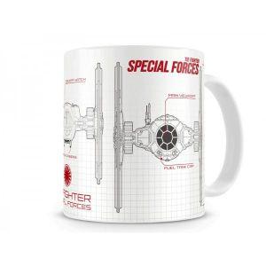 SD Toys Mug Star Wars Episode 7 Blueprint Special Forces