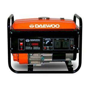 Daewoo GD6000 - Groupe électrogène thermique 4 temps