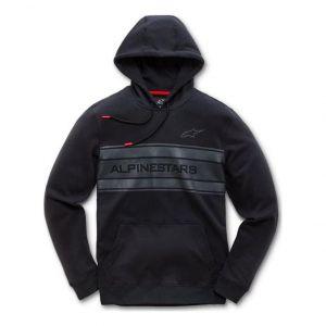 Alpinestars Sweat à capuche Pole noir - XL