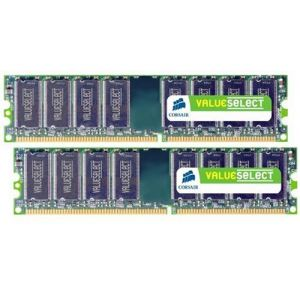 Corsair VS2GBKIT533D2 - Barrettes mémoire Value Select 2 x 1 Go DDR2 533 MHz CL4 240 broches