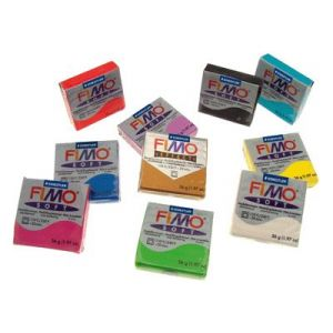 Staedtler 10 blocs de pâte à modeler Fimo Soft