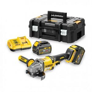 Dewalt DCG414T2 - Meuleuse Flexvolt 54V XR Ø125mm + 2 Batteries