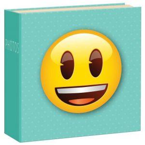 Innova Q4107994 Album Photo avec 200 Pochettes Carton/papier/plastique Vert/Jaune/Marron/Blanc/Orange 21 x 21 x 5 cm