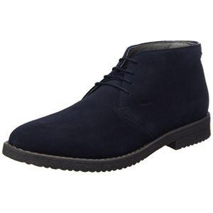 Geox U Brandled E, Desert Boots Homme, Bleu (Navy), 40 EU