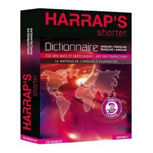 Harrap's Shorter V3 Français/anglais/français [Windows]