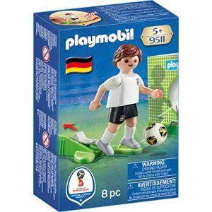 Playmobil 9511 - Coupe du Monde de la FIFA Russie 2018 - Joueur de foot Allemand