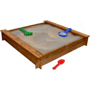 VidaXL 41658 - Bac à sable carré en bois