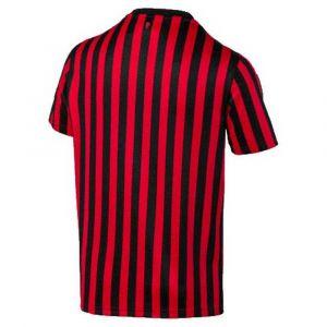 Puma Maillot Domicile AC Milan Replica pour Homme, Rouge/Noir, Taille XS |
