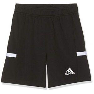 Adidas Team19 Knit Shorts Mixte Enfant, Black/White, FR : M (Taille Fabricant : 140)
