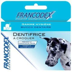 Francodex Dentifrice à croquer pour chien