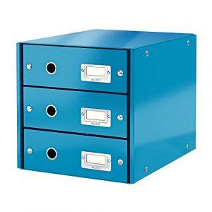 Leitz Bloc de classement à tiroirs Click & Store Bleu