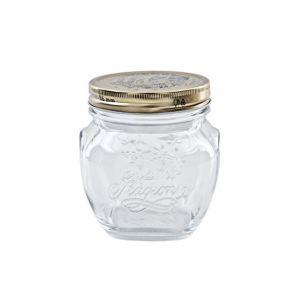 Bormioli Rocco Set de 12 bocaux / pots à confiture conserve 50 cl en verre avec couvercles 86mm - Quattro Stagioni