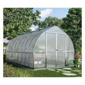 Palram Serre de jardin en polycarbonate Bella 11,9 m² - longueur : 4,82 m