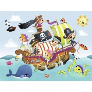 Nathan Puzzle Les petits pirates 30 pièces