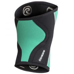 Rehband Protecteurs articulations Rx Knee Sleeve 5 Mm - Emerald Green - Taille M