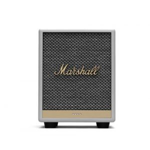 Marshall Enceinte Bluetooth Uxbridge Google Voice Assistant Blanc