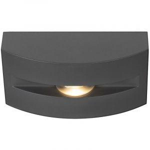 Image de SLV Applique et plafonnier extérieur anthracite OUT-BEAM FRAME avec LED 17,3 x 8,5 x 6,7 cm