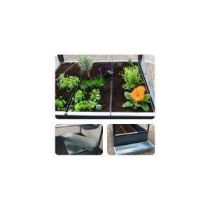 GrowCamp FC3800 - Bac de plantation pour serre de jardin 120 x 36 x 15 cm