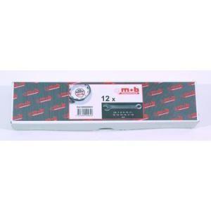 Mob 9000000801 - 23 clés mixtes en boite