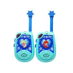 Lexibook TW25FZ-Talkie-walkie 3D Reine des Neiges