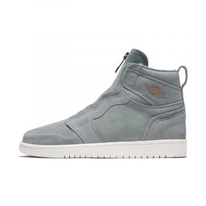Nike Chaussure Air Jordan 1 High Zip pour Femme - Olive - Taille 38