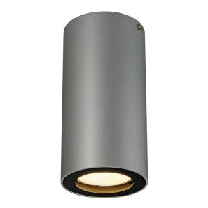 SLV Plafonnier Ampoule halogène, LED GU10 EEC: selon lampoule (A++ - E) 35 W Enola_B 151814 gris, noir