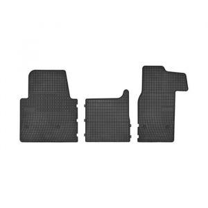 DBS Tapis Auto en Caoutchouc - Sur Mesure - Tapis de sol pour Voiture - 4 Pièces - Caoutchouc Haute Qualité - Inodore - Antidérapant - Rebords Surélevés - 1766490