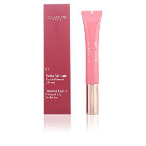 Clarins Eclat Minute 01 Rose Shimmer - Embellisseur lèvres