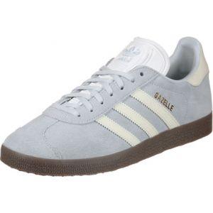 Adidas Gazelle W, Chaussures de Fitness Femme, Bleu (Tinazu/Ftwbla/Gum5 000), 38 2/3 EU