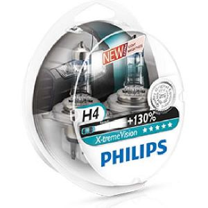 Philips 2 Ampoules H4 X-tremeVision 60/55 W 12 V