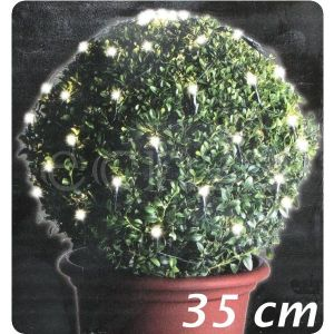 Filet lumineux 60 LED blanc chaud (70 cm)