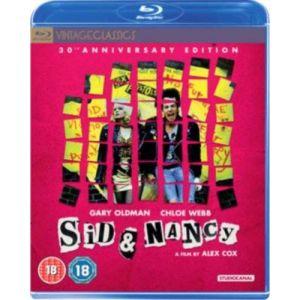 Sid & Nancy [Edizione: Regno Unito] [Blu-Ray] [Import italien]