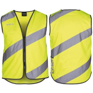 Gilet de sécurité adulte jaune M