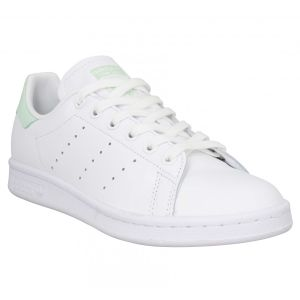 Adidas Stan Smith W, Basket Femme, FTWR White/Dash Green/Core Black, 36 EU