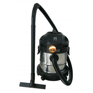 Leman LOASP201 - Aspirateur souffleur eau et poussières cuve inox 20 L
