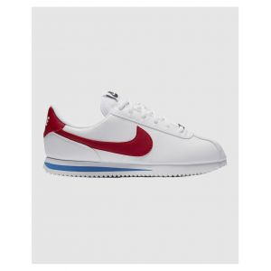 Nike Cortez Basic Sl Gs chaussures Femmes blanc rouge bleu T. 40,0