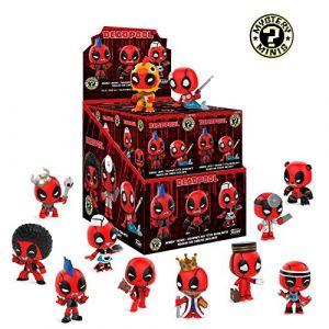 Funko Figurine Marvel Deadpool Mystery Minis - 1 Boîte Au Hasard / One Random Box - 0889698309752