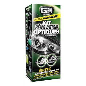 GS27 Kit de rénovation d'optiques de phares et carrosserie